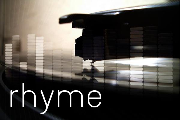 Rhymers, rhyme and meter - Poetry, Rap and Hip Hop