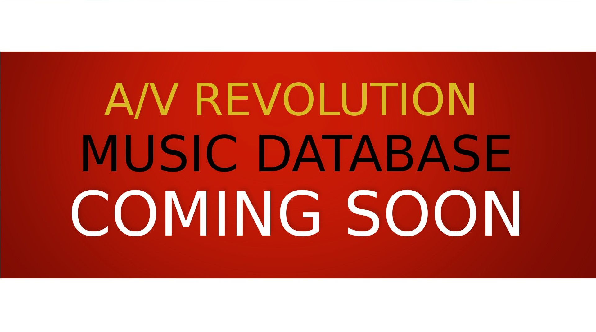 AVR Database Coming soon