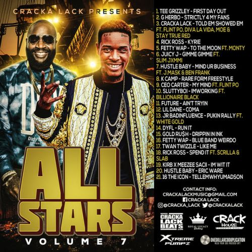 Cracka Lack Presents: All Stars Vol. 7: Music