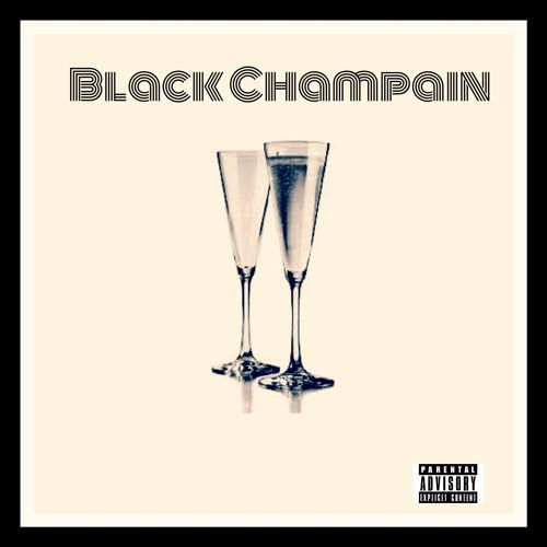 A.Jay - Black Champain,  Mixtape Cover Art