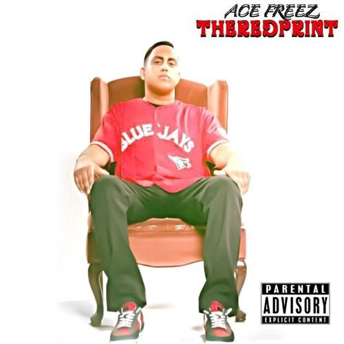 Ace Freez - The Red Print,  Album Cover Art