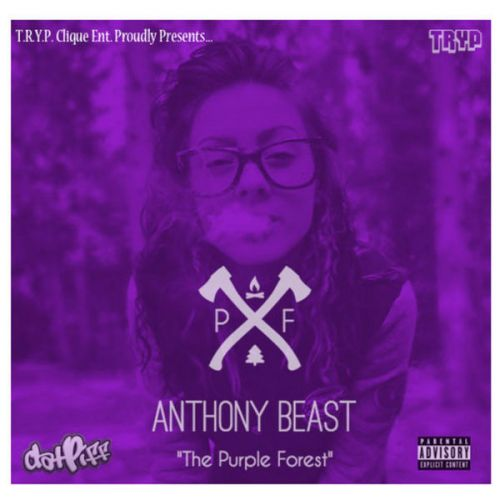 Anthony Beast - The Purple Forest ,  Mixtape Cover Art