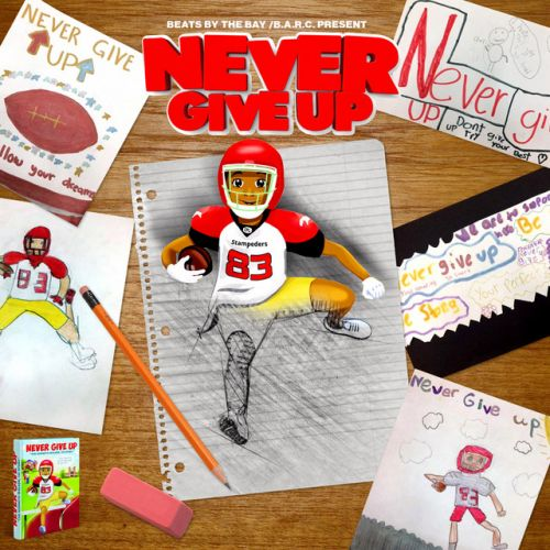 Beats By The Bay Presents –  Never Give Up the album: Music