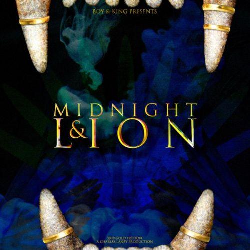 Charles Laney - Midnight & Lion,  Album Cover Art