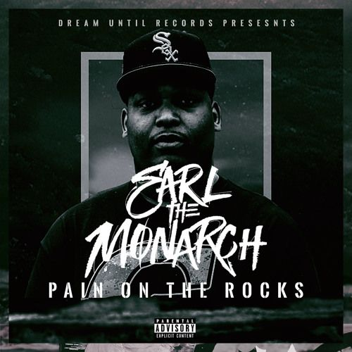 Earl The Monarch - Pain on The Rocks,  Album Cover Art