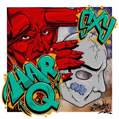 Har-Q - SxY,  Album Cover Art