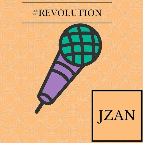 JZAN - REVOLUTION,  Mixtape Cover Art