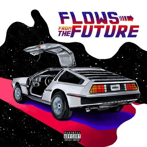 K Shaw - Flows from the future,  Mixtape Cover Art