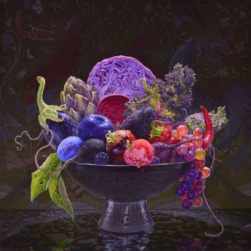 New Age Love - Decadent Fruit,  Album Cover Art