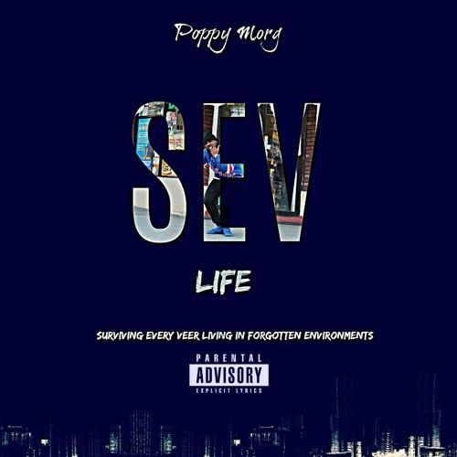 Poppy Morg - Sev Life,  Mixtape Cover Art