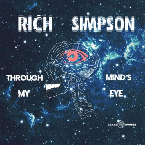 Rich Simpson - Through My Mind's Eye,  Album Cover Art